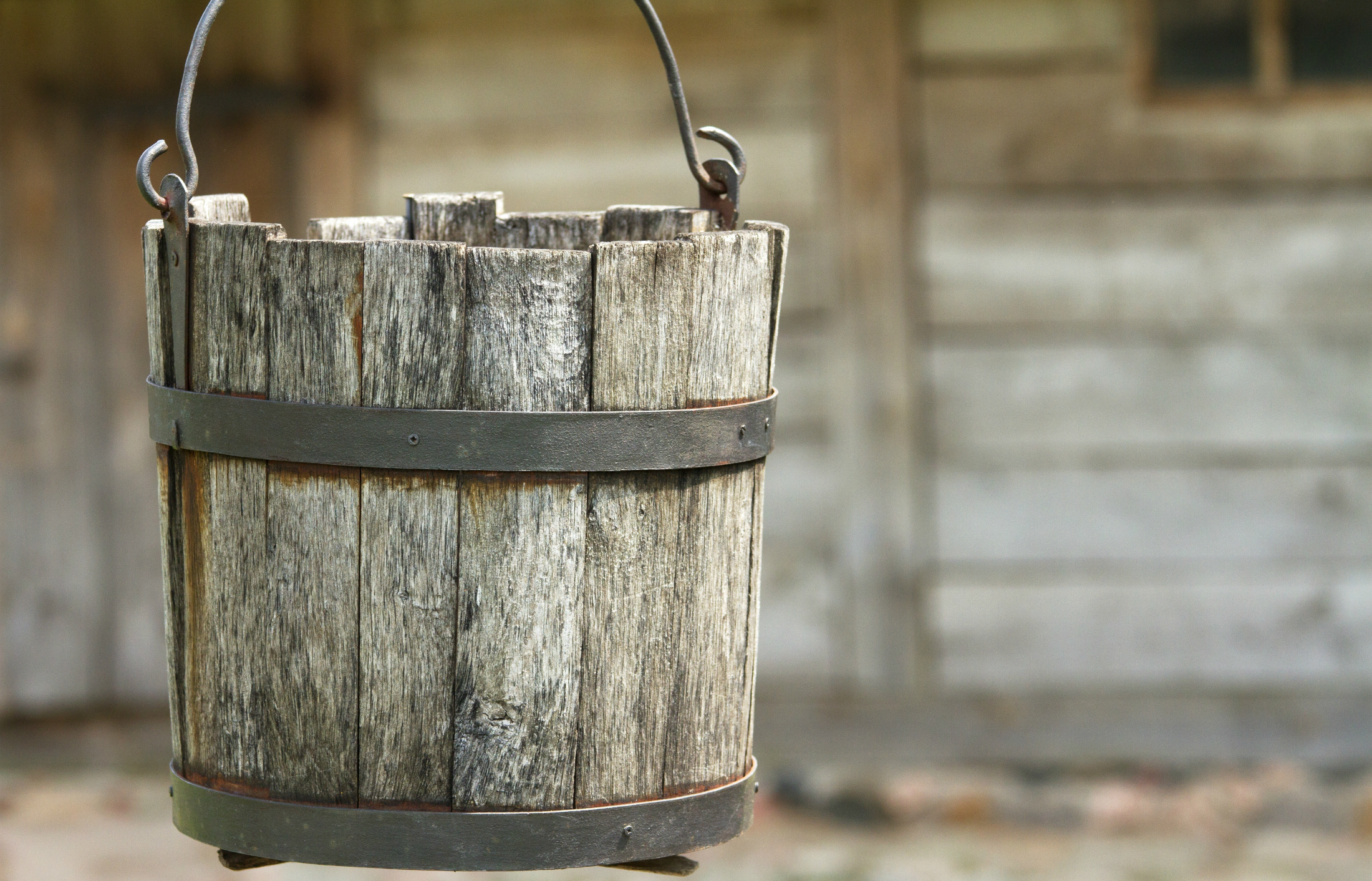 Does your bucket have a hole in it?