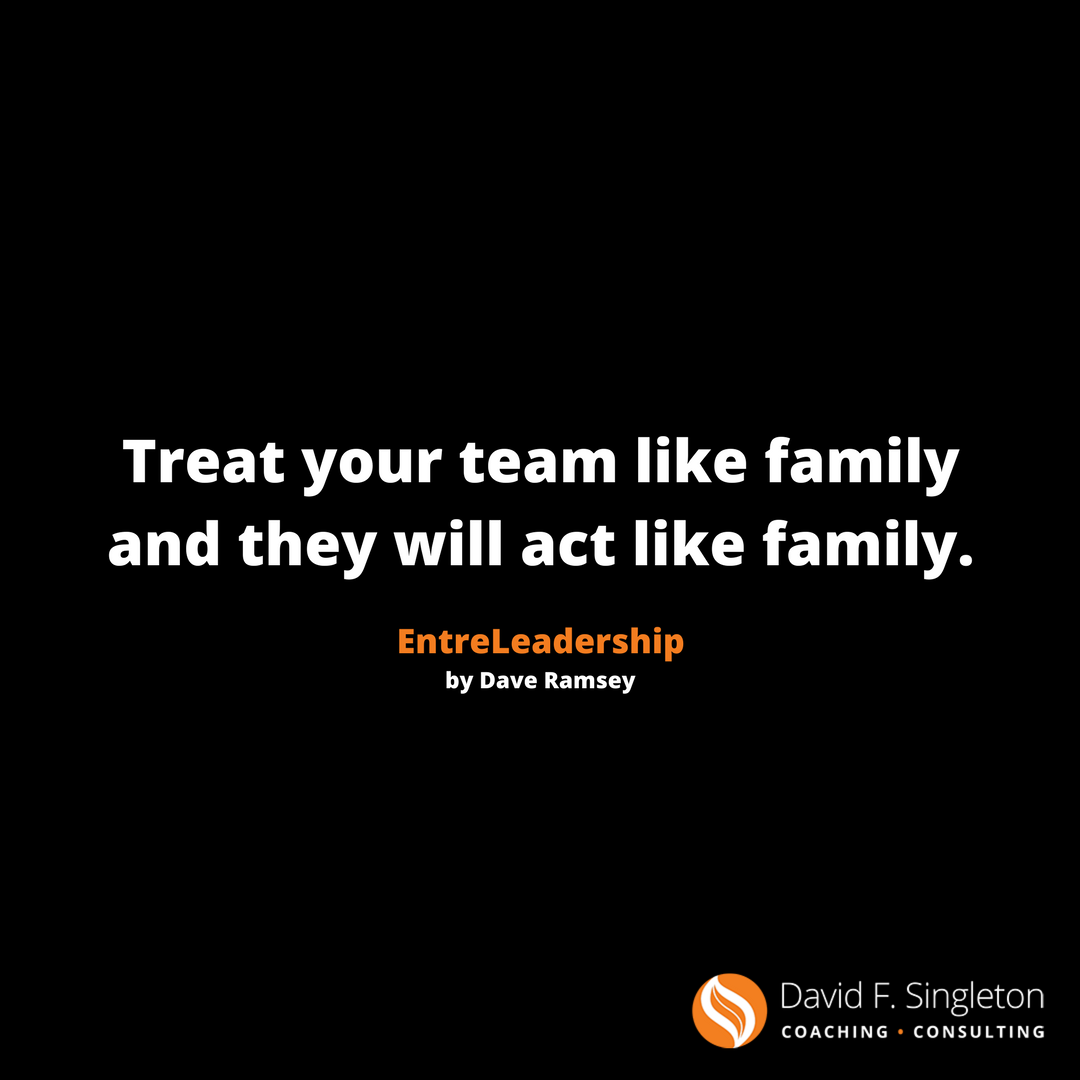How well do you treat the members of your team?